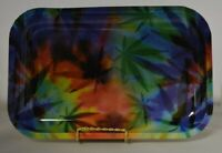 FREE JUST PAY SHIPPING NEW Metal Rolling Trays 11x7 Inches Strong Durable Leaf