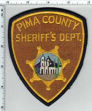 Pima County Sheriff's Dept (Arizona) Shoulder Patch - was on a display