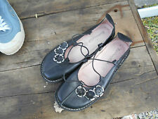 chaussures plates NOTHING ELSE T 36 CUIR NOIR TBE A 14€ ACHAT IMM FP RED MON
