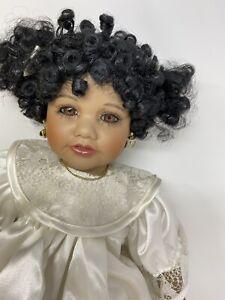 Seymour Mann A Connoisseur Collection Doll Darla African American Porcelain