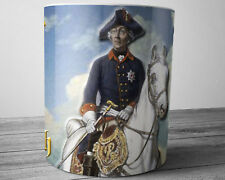 Frederick the Great King of Prussia Collectible German Coffee Mug 11 oz