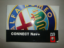 MANUALE D' ISTRUZIONE RADIO  CONNECT NAV+   ALFA ROMEO 147