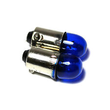 2x BA9S [T4W/233] 4w Super White Xenon Sidelight Bulbs 12v