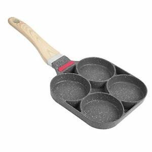 Pfannkuchenpfanne, Pancake Bratpfanne, Antihaft Spiegelei Pfanne, 4 (Universal)