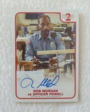 Topps Stranger Things Season 2 Rob Morgan Autograph Card
