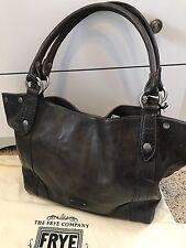 Price Reduced!  Frye Signature Melissa Washed Leather Slate Shoulder Bag