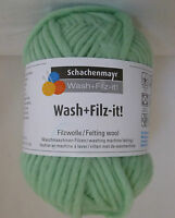 SMC WASH + FILZ-IT! x 50g Chunky Felting Wool for Knitting 100% Wool ~ Many Cols