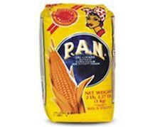 Harina PAN White Corn Meal Flour 1 Kg Venezuela Colombia