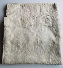 "Cynthia Rowley 2 Drape Curtain Panels 36"" x 92""  Beige Cream Damask RN 75343 EUC"