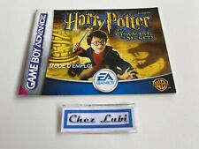 Notice - Harry Potter Et La Chambre Des Secrets - Nintendo Game Boy Advance GBA
