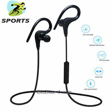 Sport Wireless Bluetooth 4.1 Ear-Hook In-Ear Stereo Headphones Earphones Headset