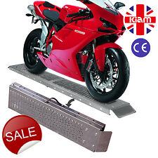 Folding Loading Ramp 1.8M steel SCOOTER MOPED Motorbikes motorcycles