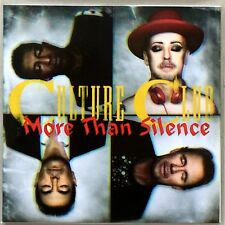 CULTURE CLUB / BOY GEORGE * MORE THAN SILENCE * UK 1 TRK PROMO * HTF! * TRIBES