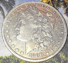 "1890 ""P""  MORGAN SILVER DOLLAR   Free Shipping"