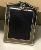 Rare Silverplated Photo Frame For 5x7 Inches Photo