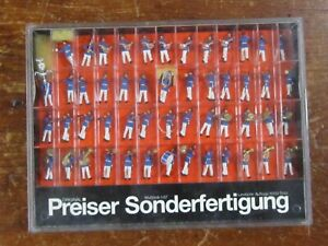 Preiser Handpainted Prussian Marching Band 51 Figs WOW