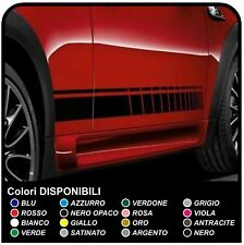 MINI COOPER kit strisce adesive laterali  strisce mini racing TUTTI MODELLI