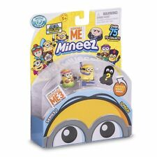 Despicable Me 3 Minions Mineez Series One Core Collectors 3 pack NEW 2017