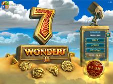 7 Wonders II Juego De Vapor CD Tecla Digital Descarga Digital match 3 Casual