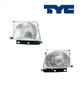 2PCS TYC Headlight Assembly Fit 1997-2000 Toyota Tacoma