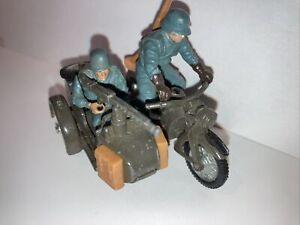 Britains German Motobike Sidecar  9681.