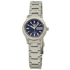 Seiko Ladies 5 Automatic Blue Dial Stainless Steel Watch - SYMD93K1 NEW