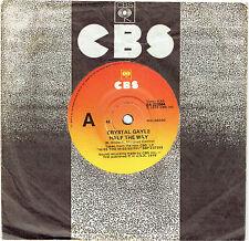 """CRYSTAL GAYLE - HALF THE WAY - 7"""" 45 VINYL RECORD - 1979"""