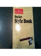 """""""Economist"""" Pocket Style Book-The Economist"""