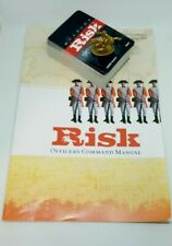 2003 Risk Board Game Replacement Card Deck Golden Calvary Manual
