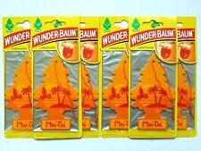 (1,50€/Einheit) 6 x WUNDER-BAUM® Mai-Tai Tree Auto Duft Lufterfrischer Duftbaum