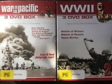 BULK DVDs New & Sealed War in the Pacific & WWII - 6 DVD Box WWII Documentary