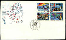 Canada 1989 Exploration FDC First Day Cover #C38613