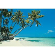 Tropical Beach Backdrop Banner Luau Photo Booth Decoration (3 pcs)