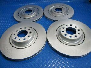 Bentley Mulsanne front rear brake rotors #6743 TopEuro PREMIUM QUALITY