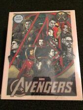 Avengers x Mondo Blufans exclusive Blu-ray Steelbook Tyler Stout art Limited Ed