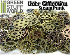 Steampunk Set 85 gr - Abalorios Ruedas Dentadas y Engranajes - Scrapbooking DIY