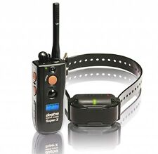 New Dogtra Super X Training Waterproof Dog Collar Rechargeable 1 Mile LCD Screen