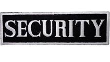 Sécurité Brodé à Repasser Patch à Coudre - Logo Insigne Vendeur Britannique
