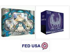Lunala Elite Trainer Booster Box Pokemon Sun and Moon + Snorlax GX Booster Packs
