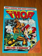 THOR MIGHTY #14 MARVEL BRITISH WEEKLY 20 JULY 1983^