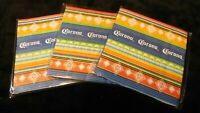 3 Pack-Corona 12 Pack- 5 inch Paper Napkins - 36 Napkins Total