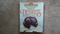 Good Housekeeping Illustrated Book of Desserts cookbook, circa 1991