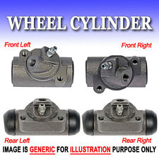 WC Drum Brake Wheel Cylinders FRONT L+R&REAR L+R Buick Chevy/4 PCS SET