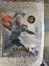 THOR: THE DARK WORLD STEELBOOK [NEW/OOP/RARE/Blu-ray 3D+Blu-ray] KimchiDVD #223