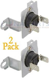 2 Pack DC96-00887A Dryer Thermostat AP5966894, DC9600887A DC96-00887C