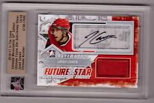 JARED COWEN 10/11 ITG Ultimate Auto Autograph Jersey Rookie /24 SP Senators