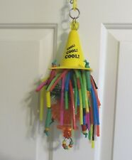 """""""Lemon CoolCone"""" Medium Parrot Bird Toy from  Parrot Play Time"""