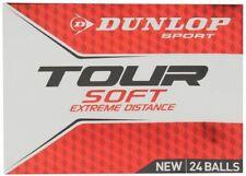 Box 24 Pack x Genuine Dunlop Professional Tour WHITE Golf Balls *IN RETAIL BOX