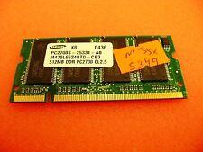 Toshiba Satellite M35X-S349 Laptop 512MB DDR PC2700 Memory RAM M470L6524BT0-CB3