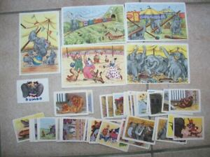 125 pictures cards Dumbo Disney chocolat De Beukelaer Belgium